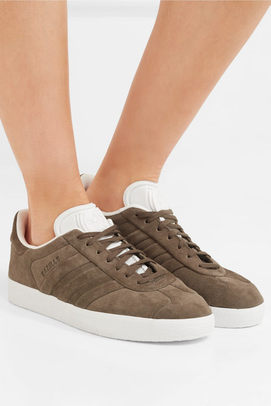super populaire 61637 1f01d Gazelle Stitch and Turn suede sneakers