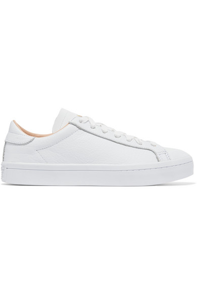 adidas Originals Court Vantage Sneakers aus strukturiertem Leder Echte Online uftciRG