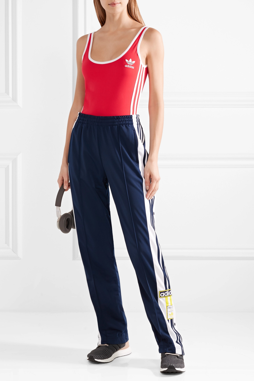 adidas Originals Striped stretch bodysuit