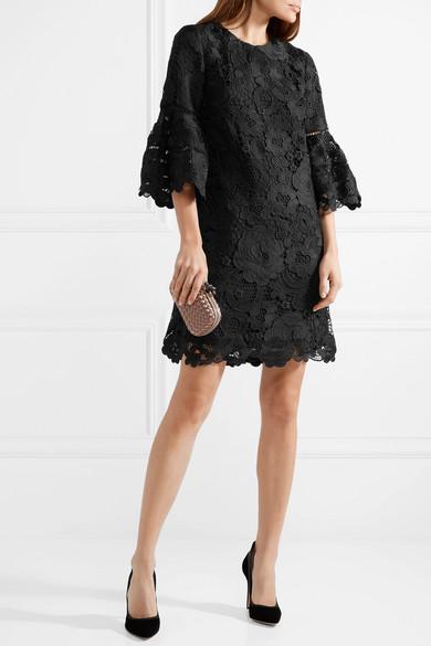 Lela Rose Kleid aus Guipure-Spitze