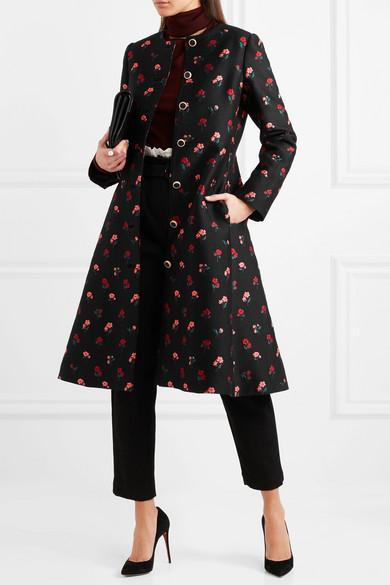 Manchester Lela Rose Jacquard-Mantel aus einer Wollmischung Zum Verkauf Online-Verkauf Footlocker Finish Zum Verkauf PHVIBrtaX