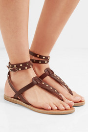 Estia studded leather sandals