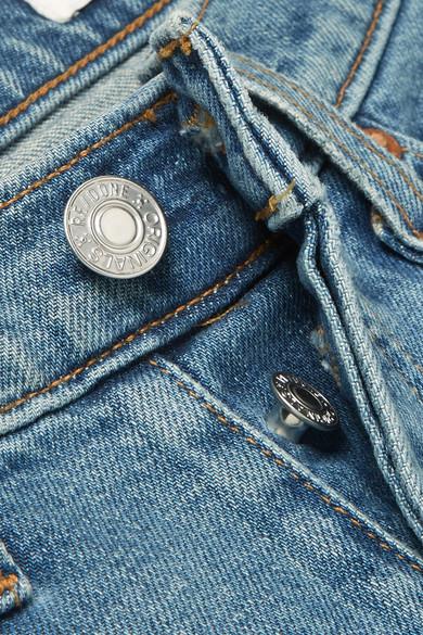 Versand Outlet-Store Online RE/DONE Hoch sitzende Skinny Jeans in Distressed-Optik Heißen Verkauf Online-Verkauf Online Kaufen Freies Verschiffen Rabatt Beste ydKa4yV