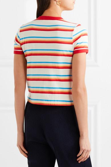 Rabatt Suche Steckdose Kostengünstig RE/DONE Seventies gestreiftes T-Shirt aus Baumwoll-Jersey Amazon Footaction Günstig Kaufen Aus Deutschland Verkauf Sammlungen FpJWjX