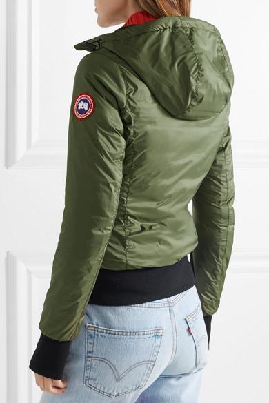 639fb18e19c Dore hooded shell down jacket