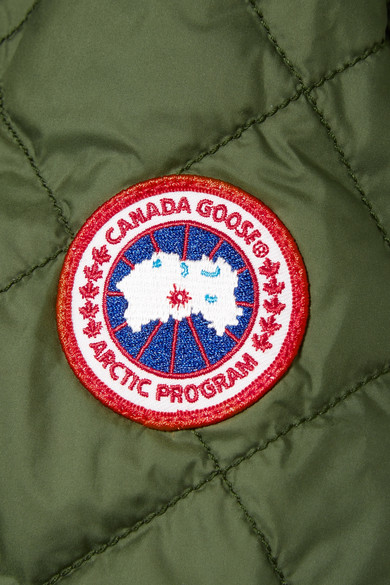 Canada Goose Dore Daunenjacke aus Shell mit Kapuze