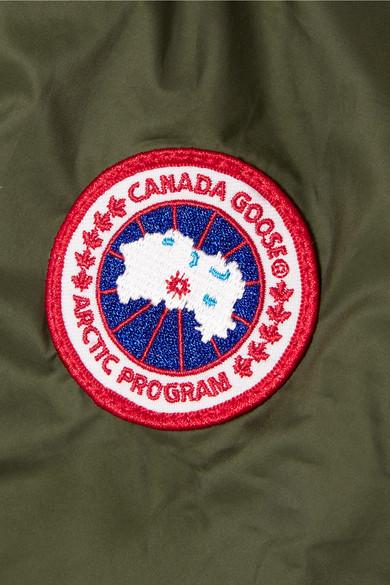 Canada Goose Stellarton Daunenmantel aus gestepptem Shell