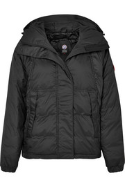 Campden hooded shell down jacket