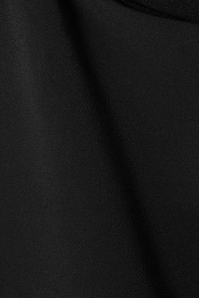 Cushnie et Ochs Violetta verziertes Oberteil aus Stretch-Crêpe mit Cut-outs
