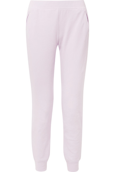 Footlocker Finishline Cheap Price Manchester Great Sale For Sale French Cotton-terry Track Pants - Lavender ATM Anthony Thomas Melillo Buy Cheap 2018 New Outlet Sneakernews k7PuxMxSMf