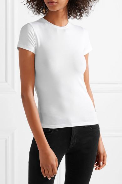 ATM Anthony Thomas Melillo T-Shirt aus Jersey aus Pima-Baumwolle mit Stretch-Anteil