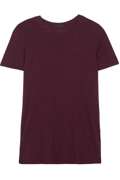 ATM Anthony Thomas Melillo Schoolboy T-Shirt aus Flammgarn-Jersey aus Baumwolle