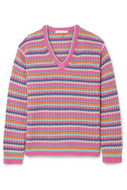 Marc Jacobs Striped cashmere sweater