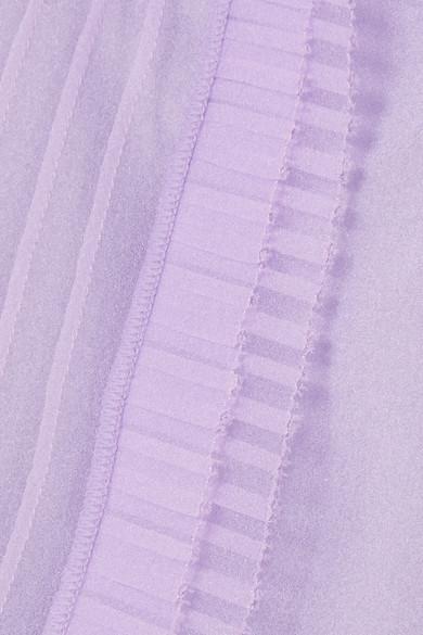 Marc Jacobs Kristallverzierte Bluse aus Organza mit Rüschen Billig Verkaufen Gefälschte Spielraum Shop-Angebot Rabatt Bestellen Freies Verschiffen Offiziell mhPqM