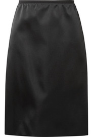 Duchesse-satin skirt