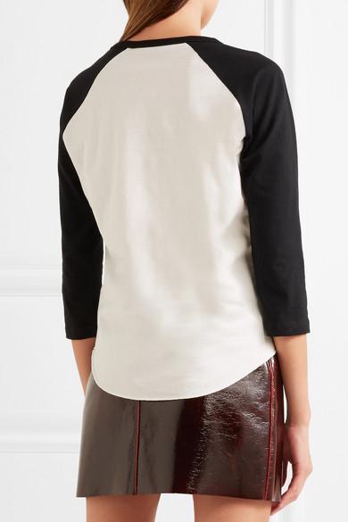 Marc Jacobs Bedrucktes Oberteil aus Jersey aus Stretch-Baumwolle