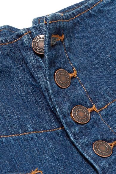 Marc Jacobs Verkürzte, hoch sitzende Jeans mit weitem Bein