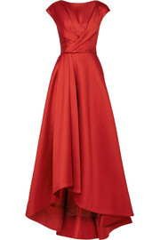 Jason Wu Asymmetric wrap-effect taffeta gown