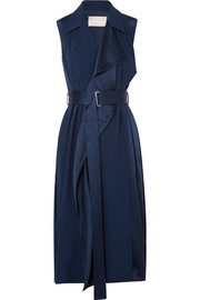 Jason Wu Belted satin wrap dress