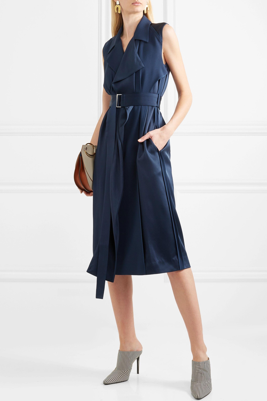 Jason Wu Collection Belted satin wrap dress