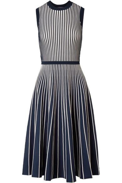 Jason Wu Zweifarbiges Kleid aus Stretch-Strick