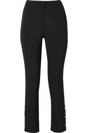 Jason Wu Embellished stretch-woven straight-leg pants
