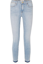 FRAME Le High Skinny cropped jeans