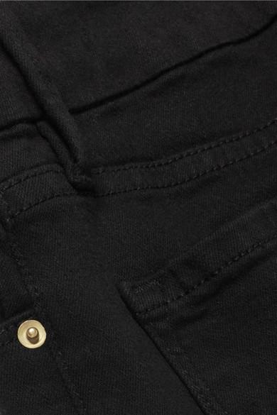 FRAME Le Crop Mini halbhohe Bootcut-Jeans