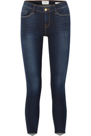 FRAME Le Skinny de Jeanne Scoop mid-rise jeans