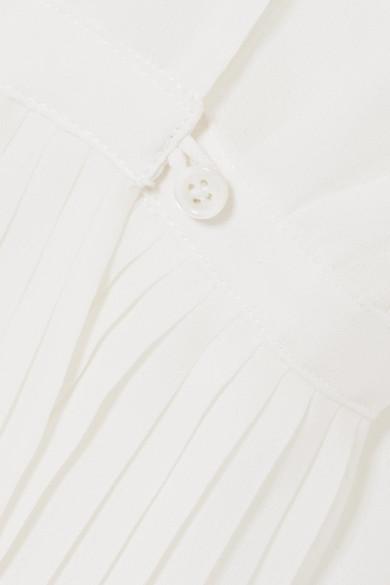 FRAME Hemd aus Crêpe de Chine mit Falten