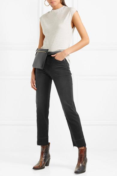 FRAME Le Nouveau hoch sitzende Jeans mit geradem Bein