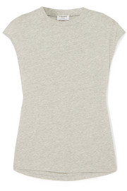 FRAME Cotton-blend jersey top