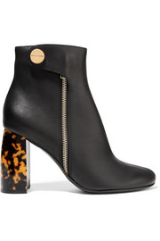Stella McCartney Bottines en cuir synthétique