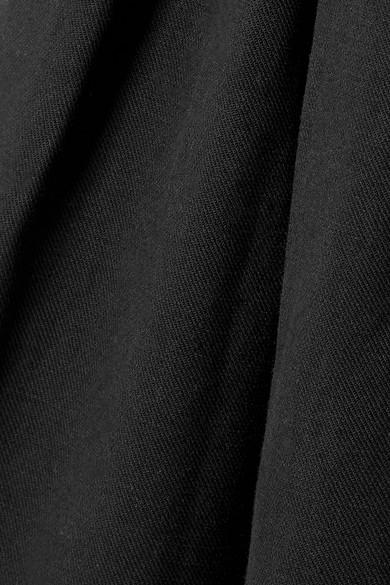 Ulla Johnson Sylvie Culottes aus Twill aus einer Tencel®-, Leinen- und Baumwollmischung mit Falten