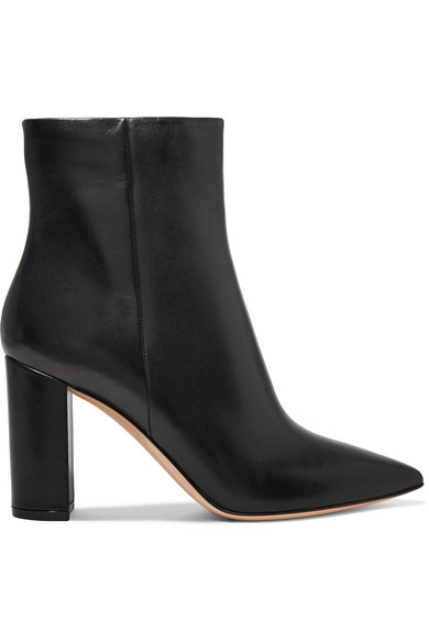 Gianvito Rossi 95 Ankle Boots aus Leder