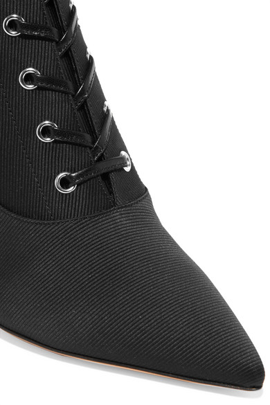 Gianvito Rossi 70 Ankle Boots aus Faille