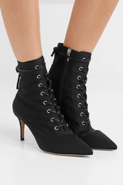 Gianvito Rossi 70 faille ankle boots