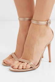 Portofino crystal-embellished satin sandals