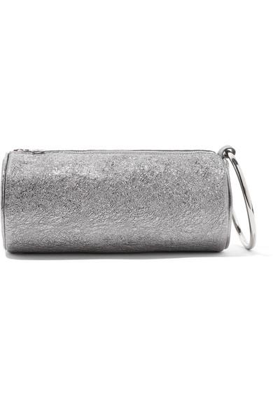 Neue Stile Günstiger Preis Verkauf Truhe Finish KARA Duffel Clutch aus strukturiertem Metallic-Leder Unter 70 Dollar Mit Paypal Zahlen Online Billige Ebay AuFbGb