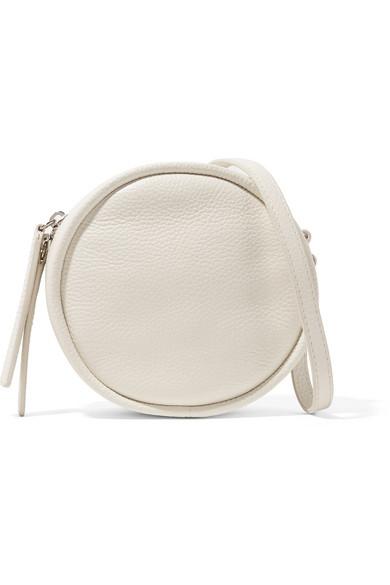 KARA - Cd Textured-leather Shoulder Bag - White