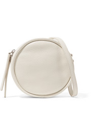 KARA CD textured-leather shoulder bag