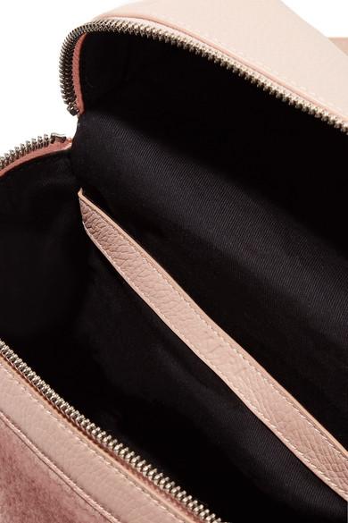 KARA Kleiner Rucksack aus strukturiertem Leder und Shearling Kaufen Sie Günstig Online Einkaufen Erschwinglich Günstig Kaufen Shop Große Diskont Online Freies Verschiffen Preiswerte Reale 1XRJ4A
