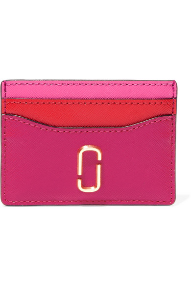 Marc Jacobs - Textured-leather Cardholder - Fuchsia