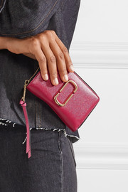 Marc Jacobs Snapshot textured-leather wallet