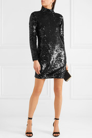 Jackie open-back sequined mini dress