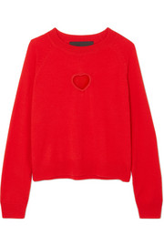 PAPER London Amore cutout wool sweater