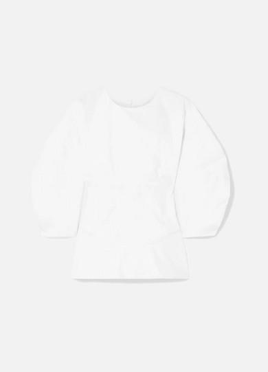 Paper London Sade Bluse aus Baumwollpopeline