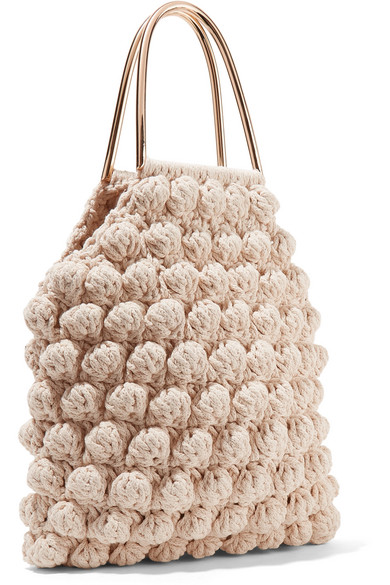 Ulla Johnson Barranco Tote aus gehäkelter Baumwolle
