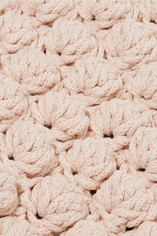 Ulla Johnson Barranco crocheted cotton tote
