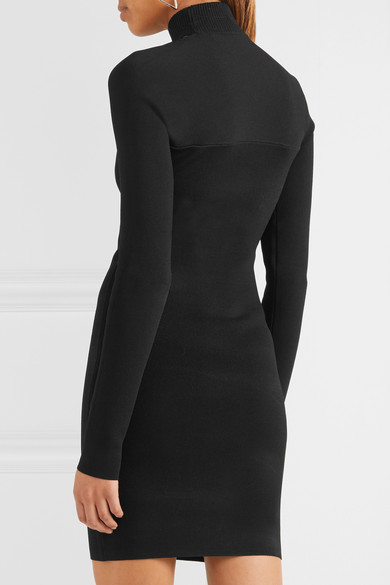Dion Lee Minikleid aus Stretch-Strick mit Cut-out